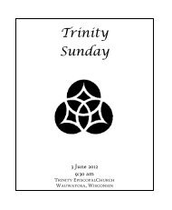 3 June 930 - Trinity Episcopal Church