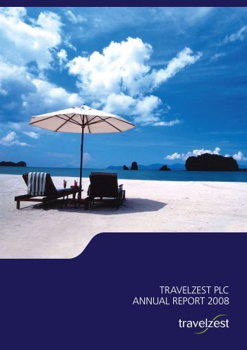 TRAVELZEST PLC ANNUAL REPORT 2008