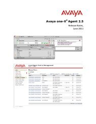 Installing and Configuring Avaya one-X® Agent - Avaya Support