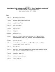 AGENDA Public Meeting on the Potential ... - Blsmeetings.net