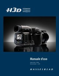 Manuale d'uso - Hasselblad.jp