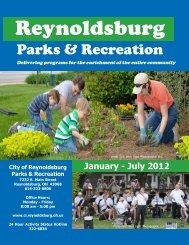 Parks & Recreation Mailing - Reynoldsburg City Schools