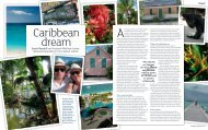 feature in October's magazine - Cayman Islands