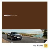 Brochurer til Laguna - Renault