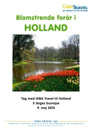 holland - GIBA Travel