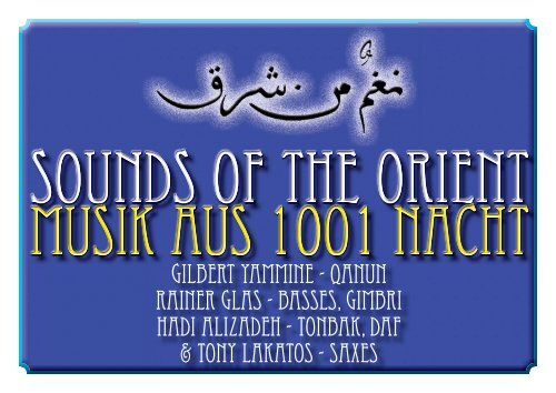 Sounds of the Orient Flyer 2012 als PDF herunterladen - Universal ...