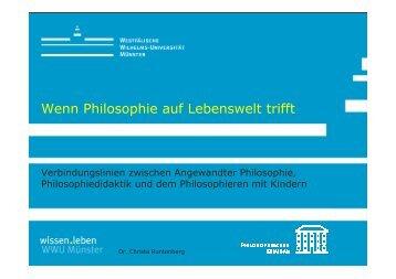 PowerPoint-Folien zum Vortrag von Dr. Runtenberg
