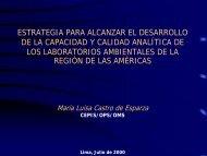 estrategia para alcanzar el desarrollo de la capacidad y calidad ...