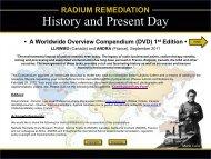 Radium Remediation - Andra
