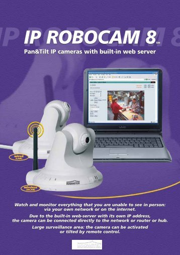 IP ROBOCAM 8tm IP ROBOCAM 8tm