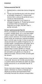 Polar G3 GPS Sensor Manual de utilizare - Page 4