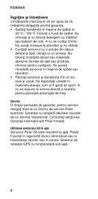 Polar G3 GPS Sensor Manual de utilizare - Page 6