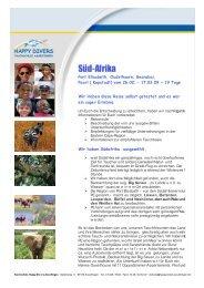 Süd Afrika vom 26.02 - 17.03.09 - Happy Divers Asselfingen