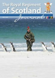 Journal - The Royal Highland Fusiliers