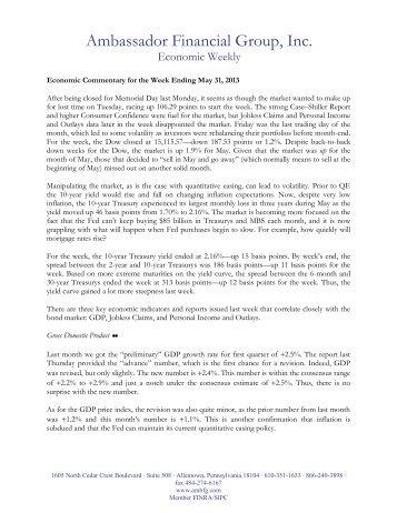 Chief Economist - Ambassador Financial Group