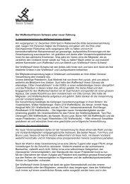Der Waffenlauf-Verein Schweiz unter neuer Führung - Waffenlauf.ch