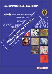 noch verfügbar, per 21.11.2011 - Kiwanis Club zu Bad Ischl