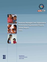 Annual Report 2005 - Maryland Medical Programs