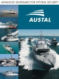 ADVANCED SEAFRAMES FOR LITTORAL SECURITY - Austal Ships