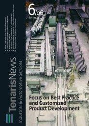 Focus on Best Practice and Customized Product ... - Tenaris