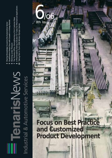 Focus on Best Practice and Customized Product ... - Tenaris