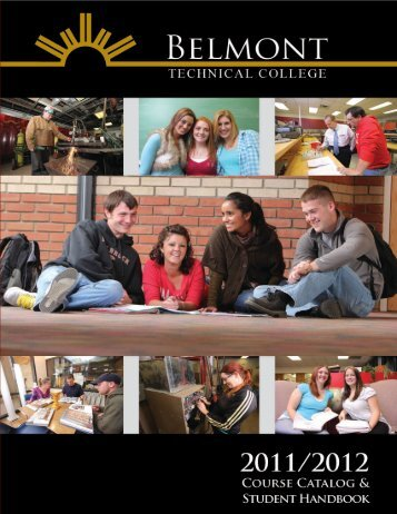 2011-2012 Catalog (pdf) - Belmont College