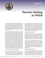 Decision Making at NASA - Cognitive Systems Engineering Laboratory