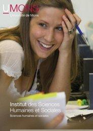 Institut des Sciences Humaines et Sociales - Université de Mons