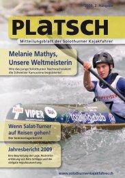 platsch 2/2009 - Solothurner Kajakfahrer