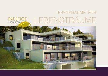 Broschüre - trevida ImmoTreuhand & Verkaufs AG