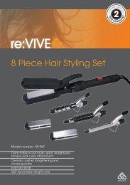 8 Piece Hair Styling Set - Tempo (Aust)