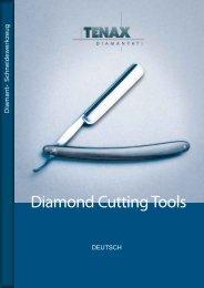 Diamond Cutting Tools - Tenax Diamantati