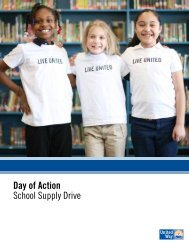 Day of Action School Supply Drive