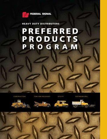 PREFERRED PRODUCTS - CBS Parts Ltd.