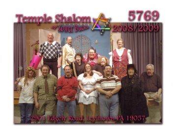 Calendar [PDF] - Temple Shalom