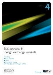Best practice in foreign exchange markets - Euromoney