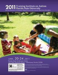 JUNE . 20-24 .2011 - University of Kentucky Autism Services ...