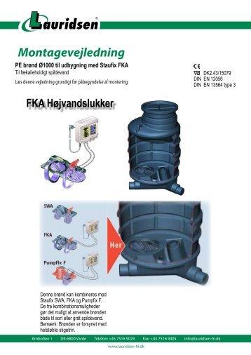 Montagevejledning - Lauridsen Handel og Import A/S
