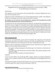 NRW-Netzwerk Frauen und Sucht 25. Juni 2009 - Bella Donna