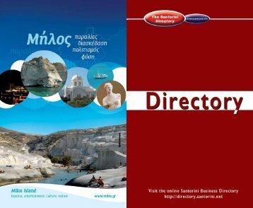 Website - Santorini Guidebook