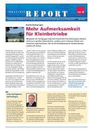 REPORT - Fachbereich Medien, Kunst und Industrie - Ver.di