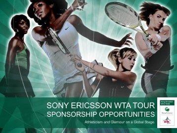 IMG Tennis Overview - WTA Tour