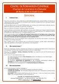 Centre de Foramtion Continue - Page 2