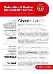 Globales Lernen - Baobab