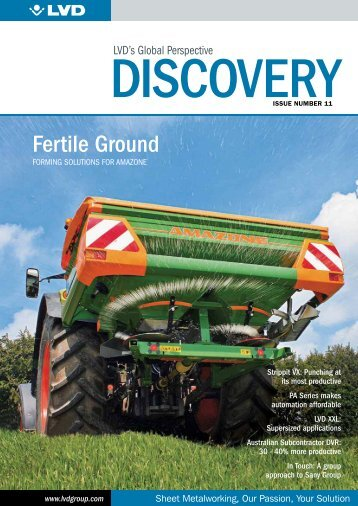 Discovery Newsletter 11 - English International - LVD
