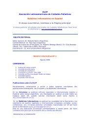 Boletín Informativo Nº 2 - Asociación Latinoamericana de Cuidados ...