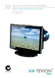 """48cm (19"""") HD LCD TV with DVD Player - Tempo (Aust)"""