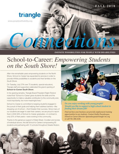 School-to-Career: Empowering Students on the     - Triangle, Inc