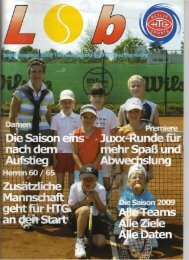 Bad Homburg - HTG Tennis