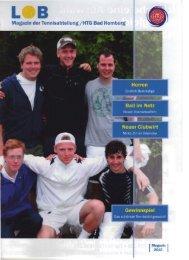 Gewinnspiel - HTG Tennis - HTG Bad Homburg
